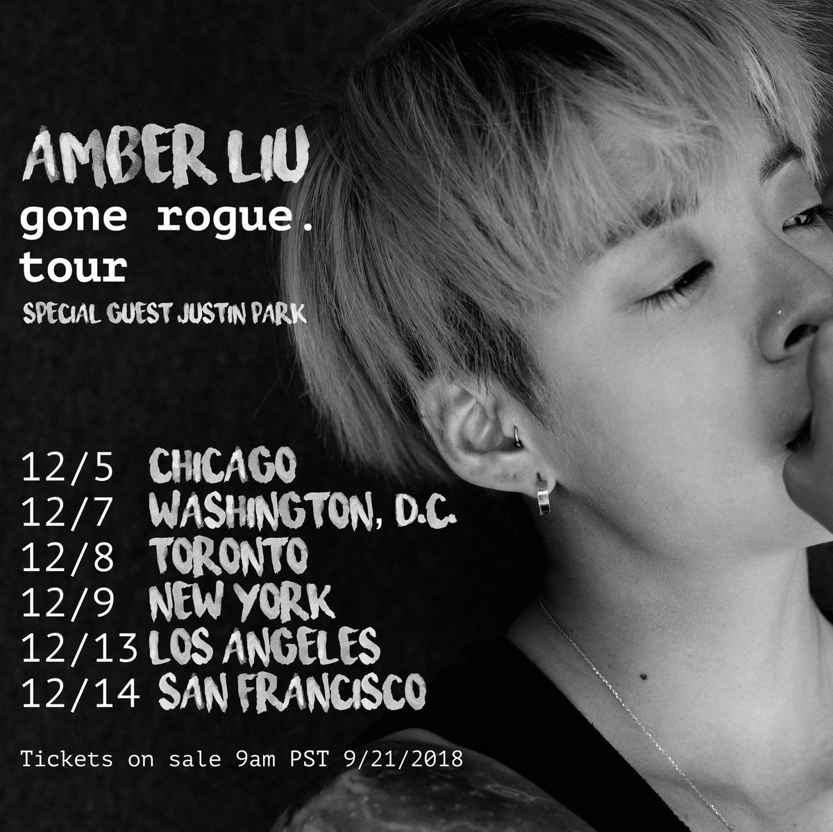 Amber Gone Rogue Tour